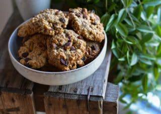 Pistachio Orange Cookies