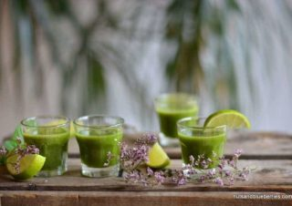 Chlorophyll with Sweet Wheatgrass Shots