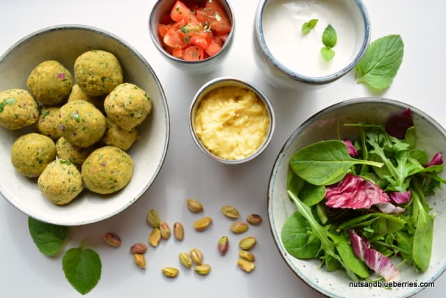 nuts and seed falafel II