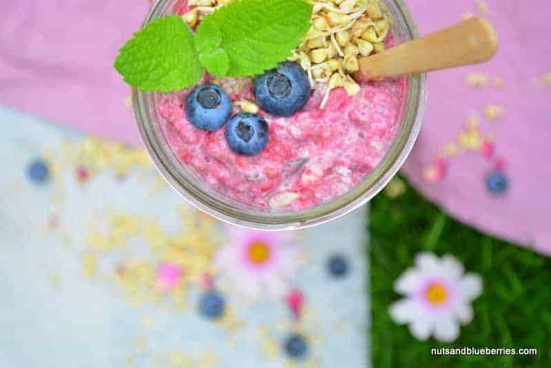 Raspberry Chia Porridge
