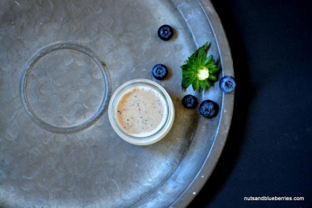 Cashew Jogurth mit Blaubeeren III