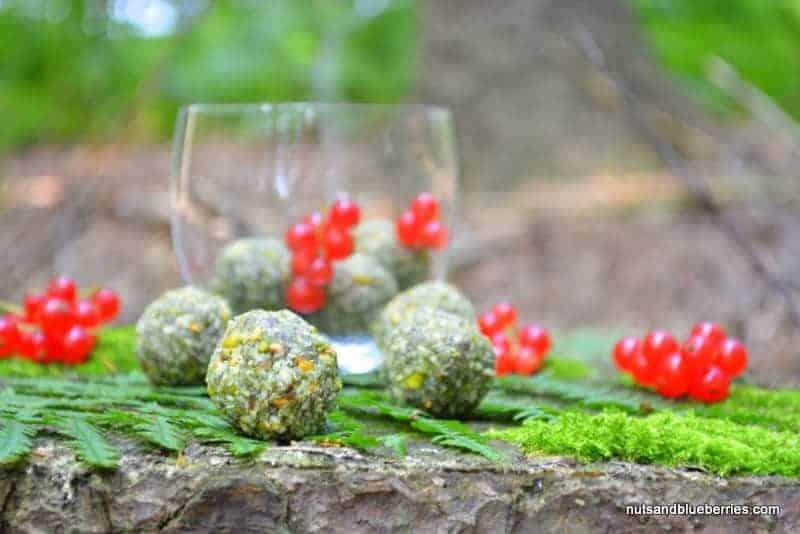 Matcha Pistachio Coconut Balls
