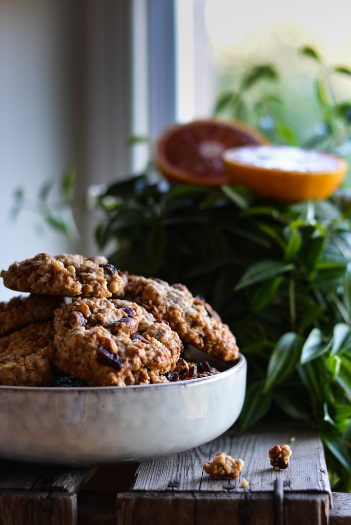 Pistachio Orange Cookies - nutsandblueberries
