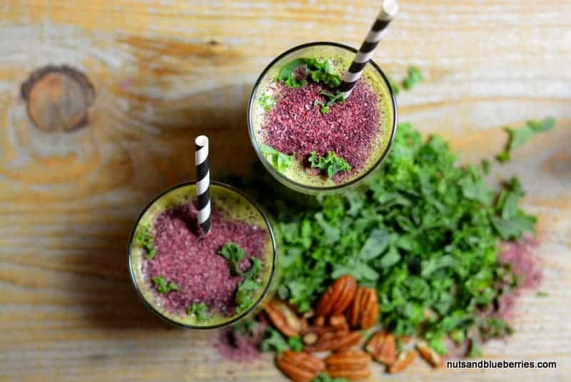 Creamy Kale Detox Smoothie nab Perfect Smoothie
