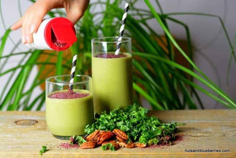 Creamy Kale Detox Smoothie