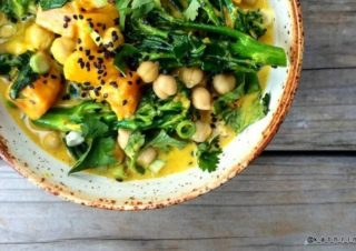 Guest recipe: Healthy Vegetable Curry