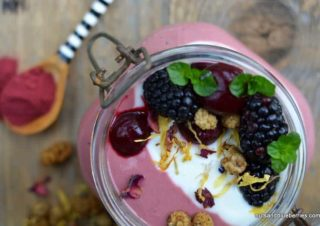 Cherry Red Beet Porridge
