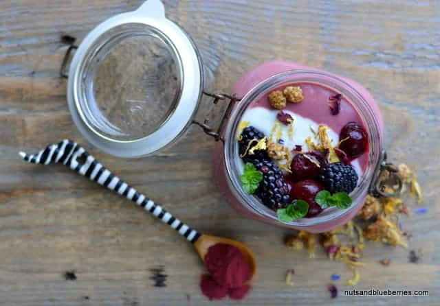 Cherry Red Beet Porridge nab