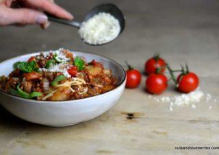 Aromatic Tofu Bolognese