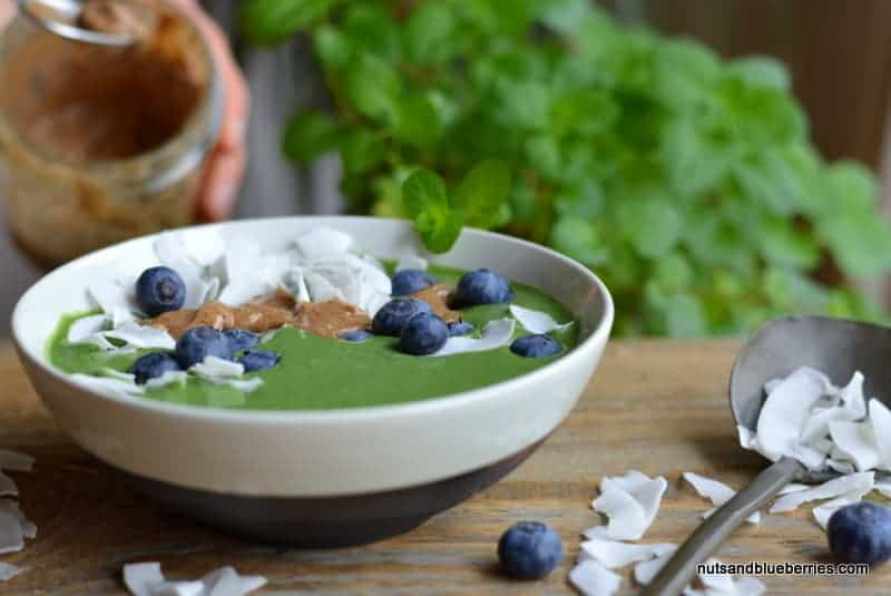 Green Antioxidant Smoothie-Bowl