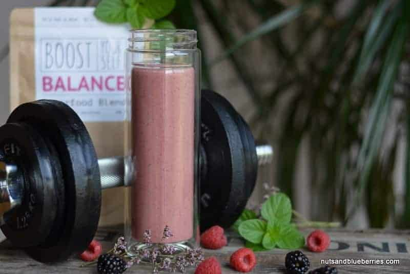 Protect Skin Raspberry Smoothie