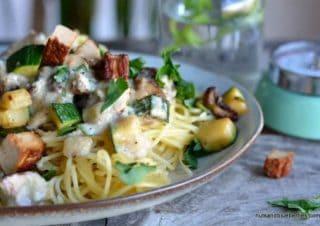 Creamy Vegan Spaghetti Carbonara