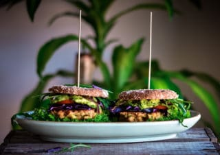 Mr. and Mrs. Chickpea Burger
