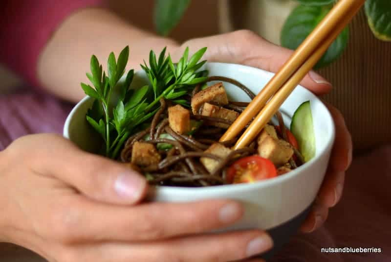 Soba (Buckwheat) Salad