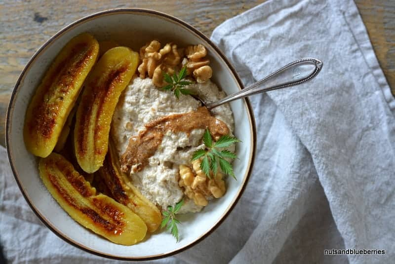 Walnut Oat Porridge with Baked Banana nab (2)
