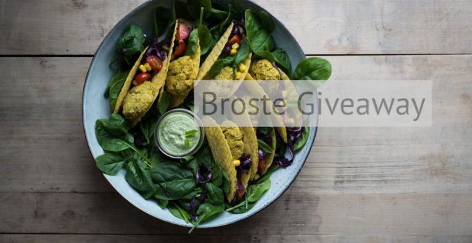 Falafel Tacos and Broste giveaway time!