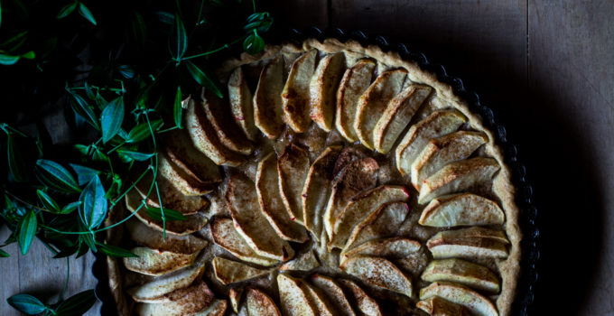 Sweet apple tart and why I can't stop thinking about south africa