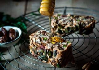 Foolproof low carb super healthy fruity nut loaf